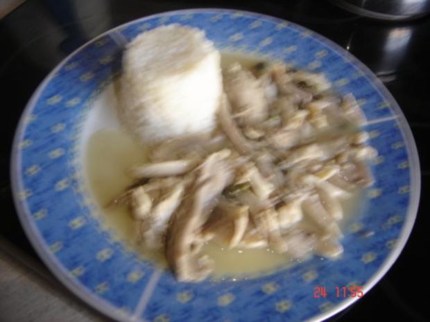 Hühnerfrikassee mit Kapern - Rezept