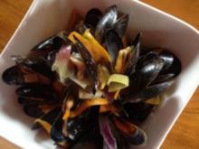 Die Muschelzeit beginnt-lecker Miesmuscheln in Gemüse-Weißwein Sud - Rezept