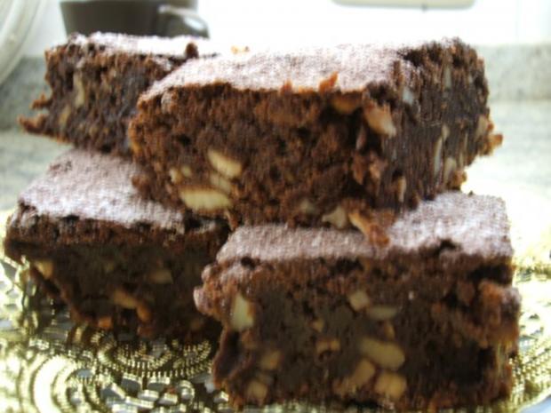 Backen Crunchy Brownies Rezept Mit Bild Kochbar De