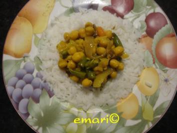 orientalischer Kichererbsen Eintopf - Rezept