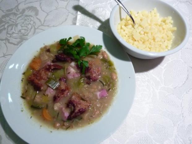 """* """" Choscht Suppe """" Gemüse- Fleisch Suppe - Rezept"""