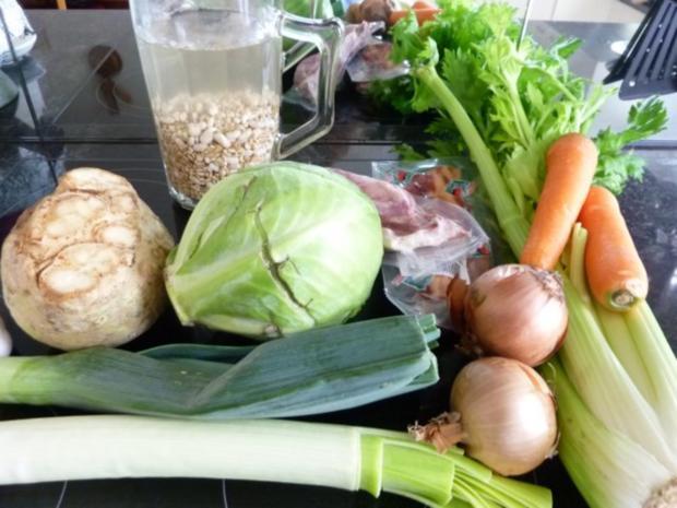 """* """" Choscht Suppe """" Gemüse- Fleisch Suppe - Rezept - Bild Nr. 2"""