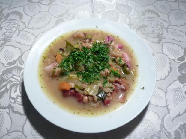 """* """" Choscht Suppe """" Gemüse- Fleisch Suppe - Rezept - Bild Nr. 6"""