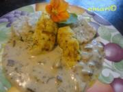 Hühner Filet Spitzen in Steinpilz Sauce - Rezept