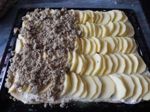 Apfel-Quark-Kuchen - Rezept - Bild Nr. 2