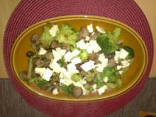 Broccoli - Bratwurst Pfanne - Rezept