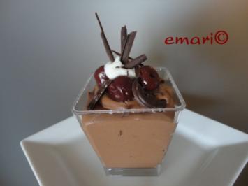 "Schokolade Mousse "" Mon Cherie"" - Rezept"