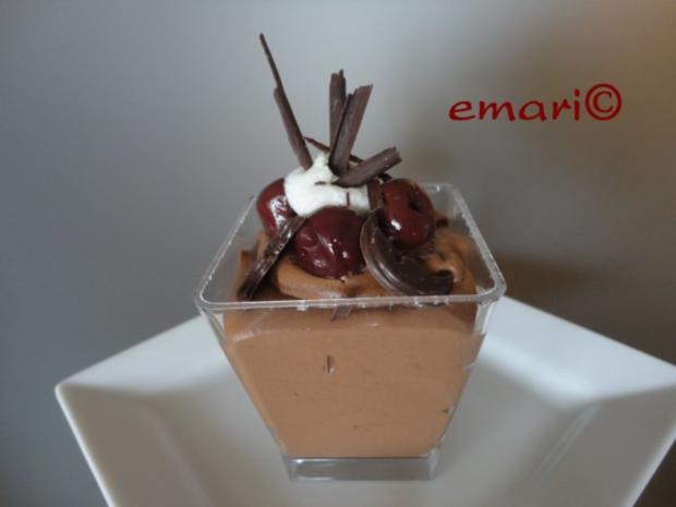 Schokolade Mousse Mon Cherie Rezept Kochbar De