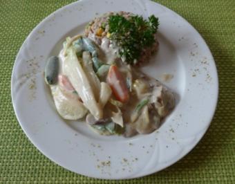 Gemüse-Frikassee an Buchweizen - Rezept