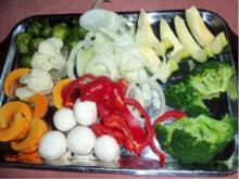 Frittiertes Gemüse - Rezept