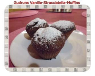 Muffins: Vanille-Stracciatella-Muffins - Rezept