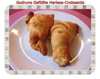 Frühstück: Gefüllte Harissa-Croissants - Rezept