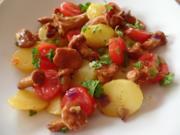 Kartoffel -Pfifferling-Salat - Rezept