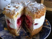 Tortenzwerg : Himbeer Käse Sahne Torte - Rezept