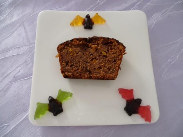 Kuchen - Kleiner Halloween-Kuchen - Rezept - Bild Nr. 8