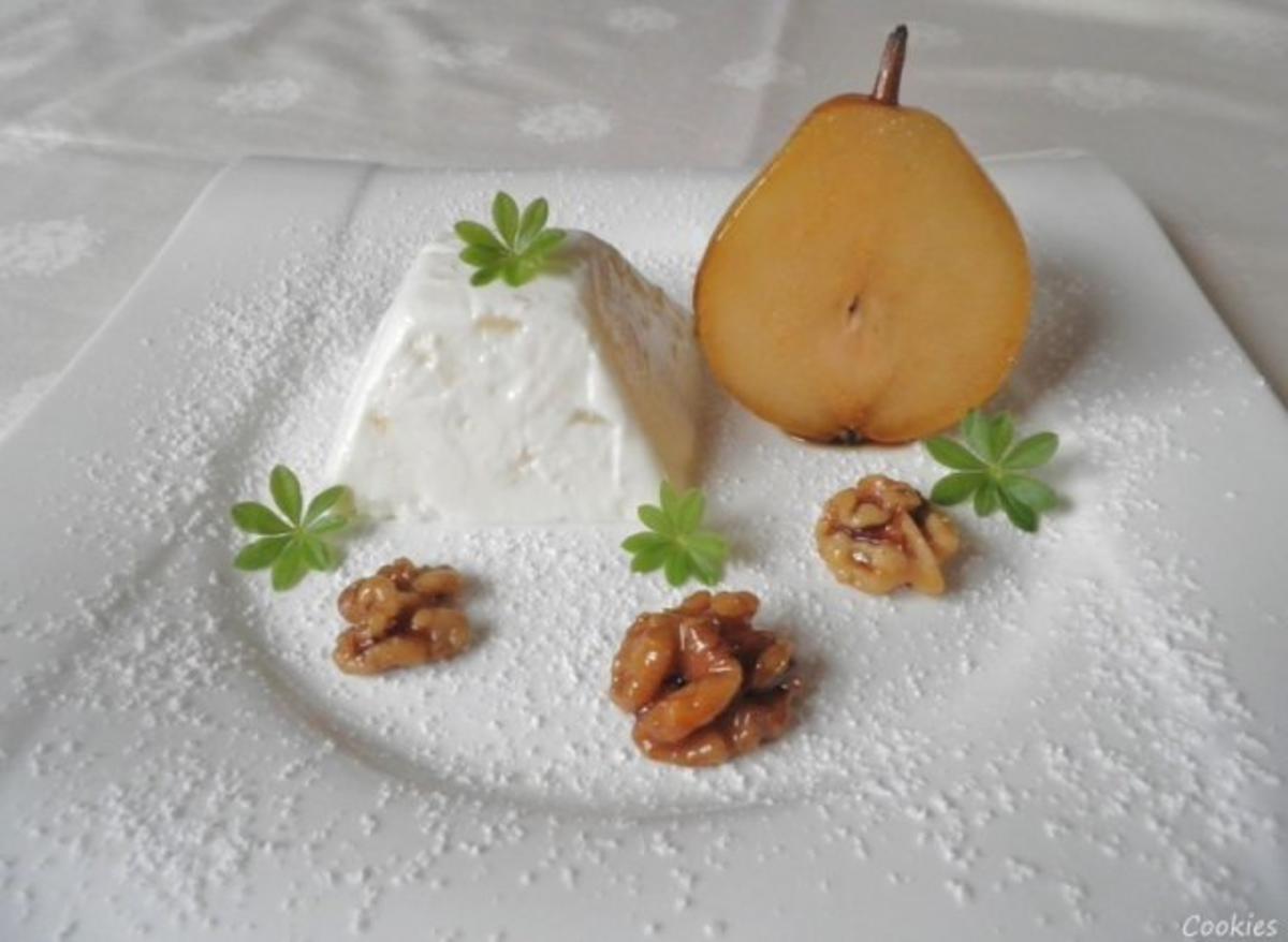 birnen quark dessert rezept mit bild. Black Bedroom Furniture Sets. Home Design Ideas