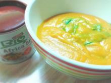 Kürbis-Erdnuss-Suppe - Rezept