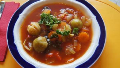 Gemüsesuppe - Rezept