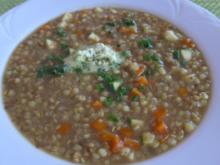Buchweizen - Gemüse - Suppe - Rezept