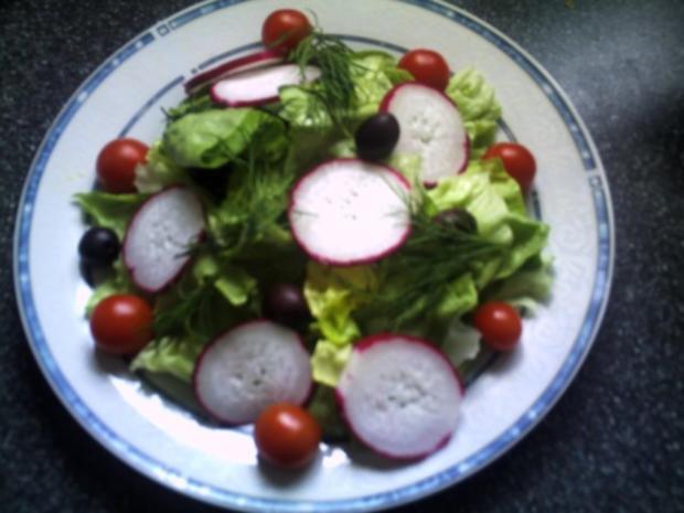 Frühlings-Salat (auch im Herbst) lecker - Rezept