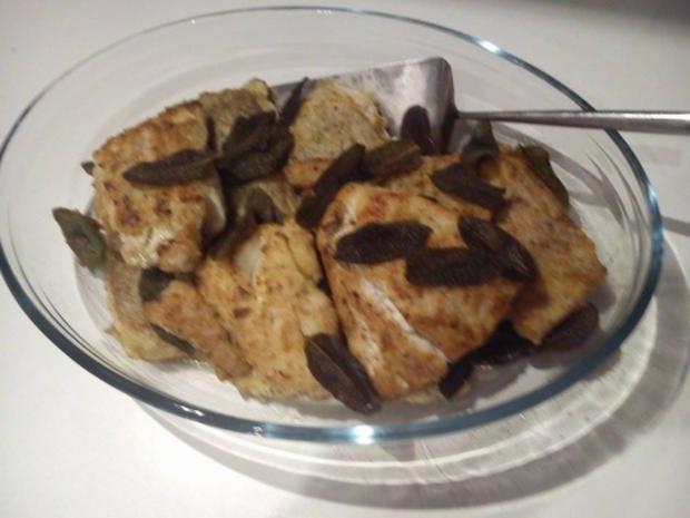 Fischfilet mit frittierten Salbeiblättern - Rezept