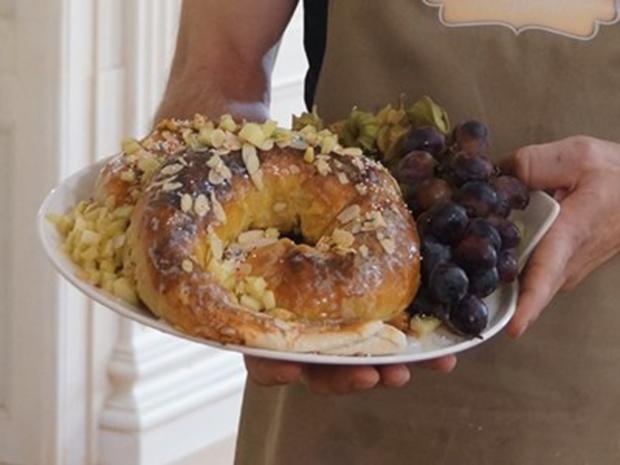 Schnecken Apfelstrudel - Rezept