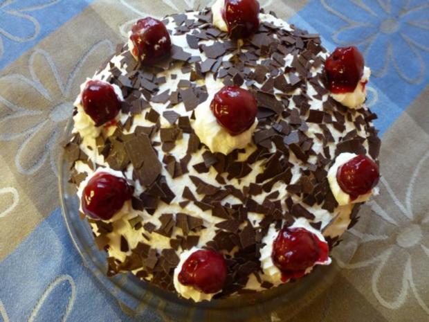 Kleine Schwarzwalder Torte Rezept Mit Bild Kochbar De