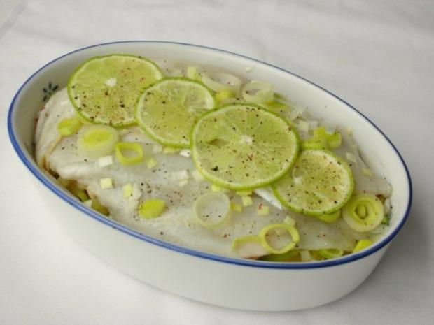 Fischfilet im Apfel-Kartoffelbett mit Curryhaube - Rezept - Bild Nr. 9