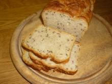 Sesam-Leinsamen-Brot - Rezept