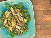 Feldsalat mit Birnen und Walnüssen - Rezept