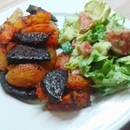 Rezept: Herbstliches Backofen-Gemüse