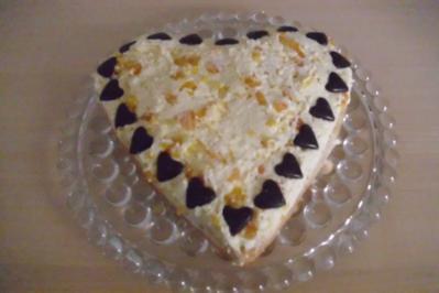 Rezept: Schmand - Mandarinen Torte