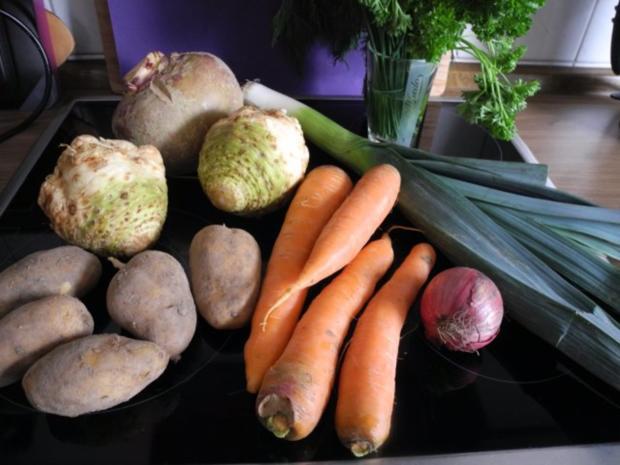 Suppe & Eintöpfe : Heisse Gemüse-Suppe - Rezept - Bild Nr. 2
