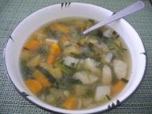 Suppe & Eintöpfe : Heisse Gemüse-Suppe - Rezept