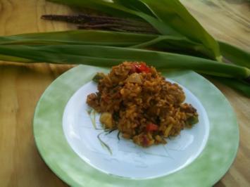 Thai Fried Rice mit Schwein - Rezept