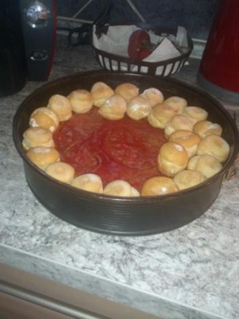 Rote Grütze Torte mit Miniwindbeutel - Rezept - Bild Nr. 2