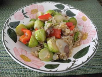 Gemüse - Pfanne mit Topinambur - Rezept
