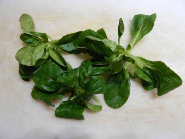Feldsalat mit Essig-Balsamico-Soße - Rezept - Bild Nr. 3
