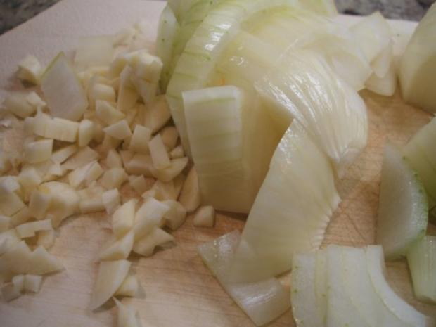 Geflügel: Hähnchen-Geschnetzeltes in Schmorgemüse mit Kräuter-Butter-Reis - Rezept - Bild Nr. 4