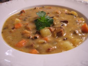 Suppen: Mein Kartoffeleintopf - Rezept