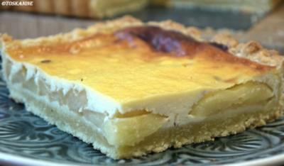 Rezept: Apfel-Holunderblüten-Tarte