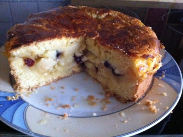 Kuchenzwerg : Gedeckter Apfelkuchen - Rezept - Bild Nr. 2