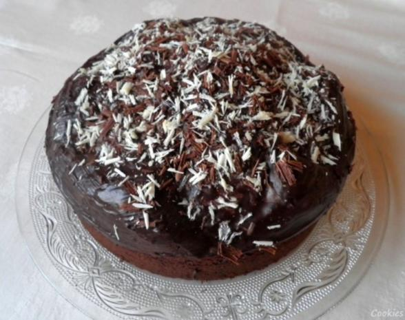 Kleiner Schokoladen - Birnen - Kuchen - Rezept