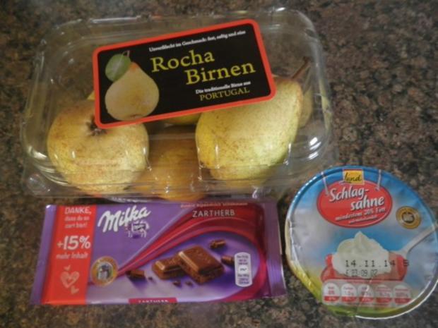 Kleiner Schokoladen - Birnen - Kuchen - Rezept - Bild Nr. 4