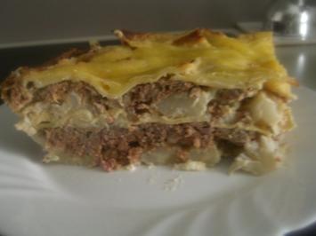 Blumenkohl-Hack-Lasagne - Rezept
