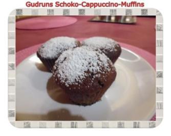 Muffins: Schoko-Cappuccino-Muffins mit Überraschung - Rezept