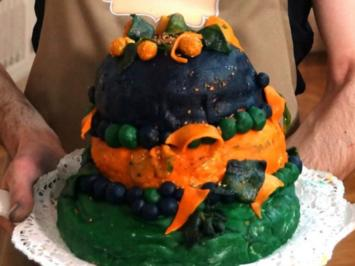 "Rezept: ""Lavendel-Space-Torte"""