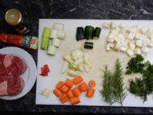 Ossobuco mit Basmati Reis - Rezept