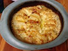 Kartoffelgratin dauphinios - Rezept