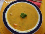 Curry-Gemüsesuppe mit Einlage - Rezept